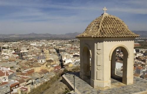 COSTA BLANCA LA VEGA BAJA COX Vista desde el Castillo