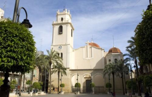 COSTA BLANCA CREVILLENTE Iglesia de la localidad