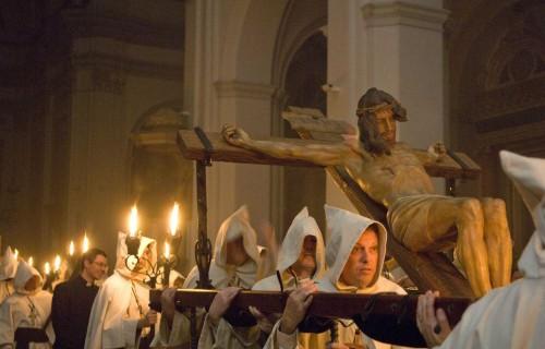 COSTA BLANCA CREVILLENTE Semana Santa Procesión de los sacos