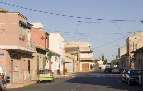 costa blanca daya nueva vieja calle tradicional