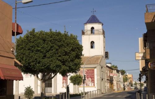 costa blanca daya nueva vieja iglesia del pueblo