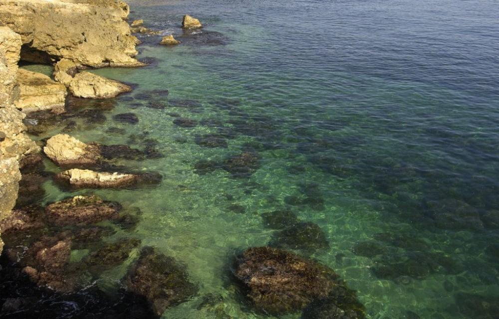 costa blanca denia aguas cristalinas de les rotes