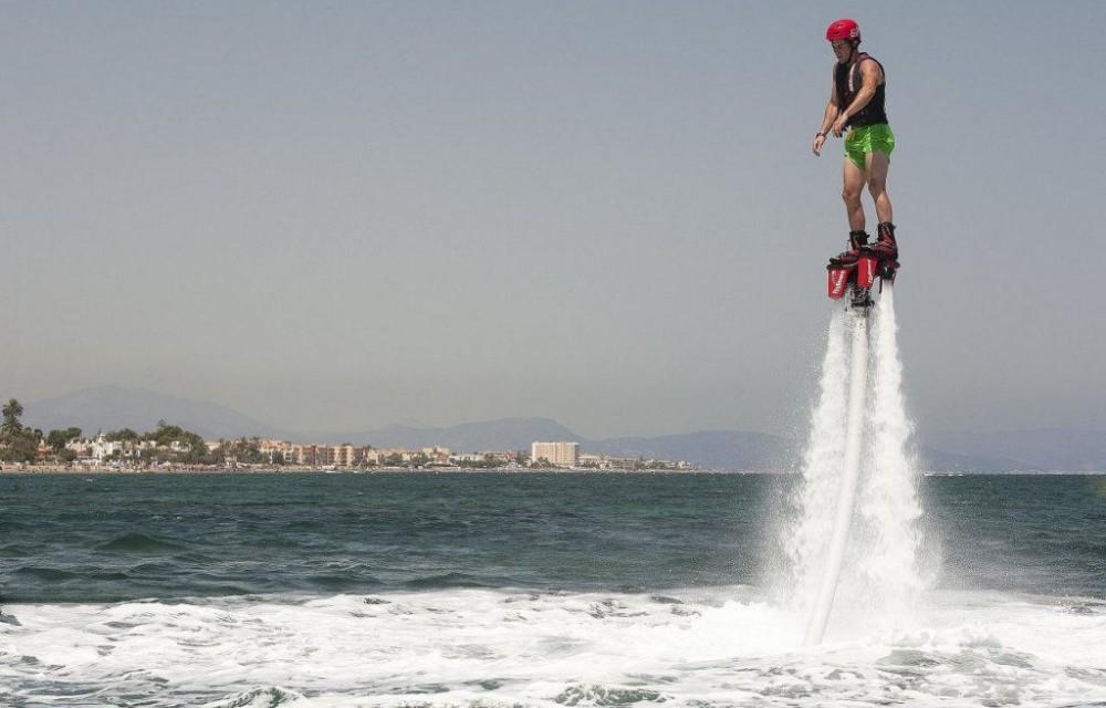 costa blanca denia alucinante deporte del flyboard