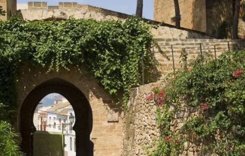 COSTA BLANCA MARINA ALTA DENIA Puerta de la Vila en el Castillo