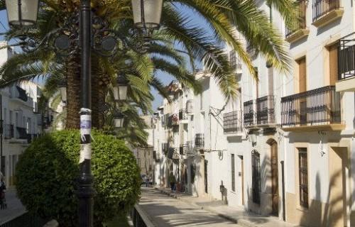 COSTA BLANCA MARINA ALTA BENISSA Calle de la localidad