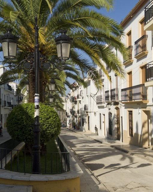 costa blanca denia calle famosa de benissa
