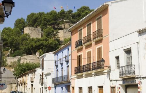 COSTA BLANCA MARINA ALTA DENIA Barrio Baix a la mar y Castillo