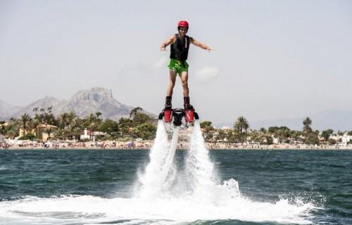 COSTA BLANCA DENIA deporte de flyboard