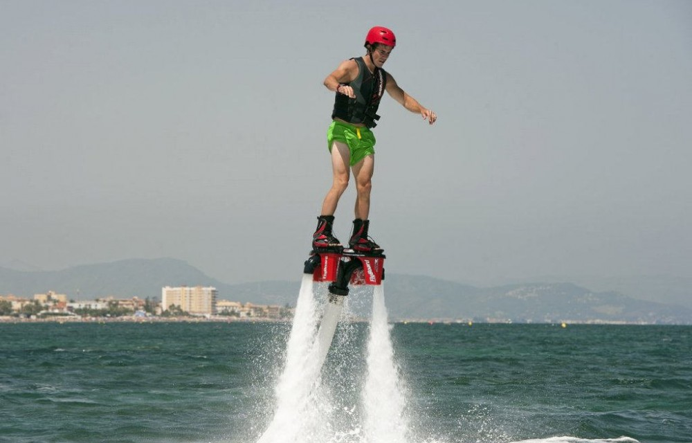costa blanca denia flyboard espectacular