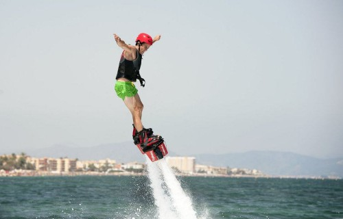 COSTA BLANCA DENIA diversion de flyboard