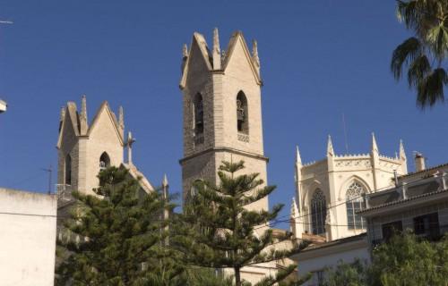 COSTA BLANCA MARINA ALTA BENISSA Iglesia de la localidad