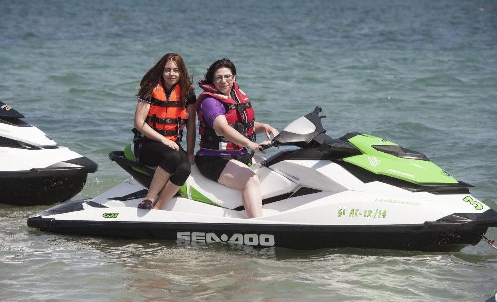 costa blanca denia motos de agua entre amigos