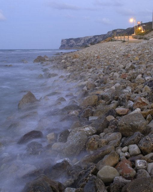 costa blanca denia precioso anochecer en las rotas