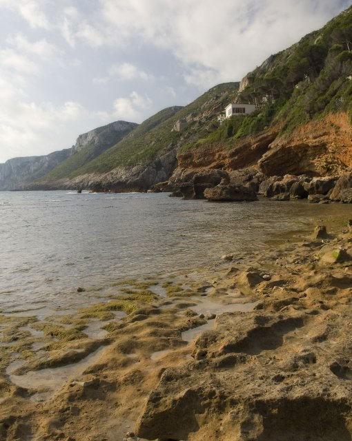 costa blanca denia rocas de cala les rotes