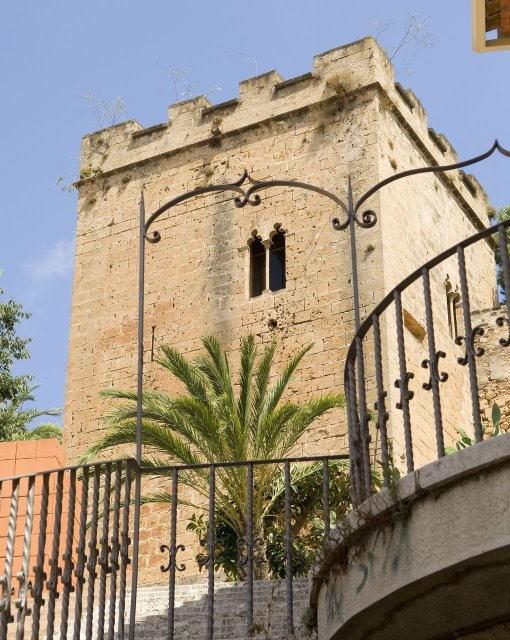 costa blanca denia torre castillo ciudad