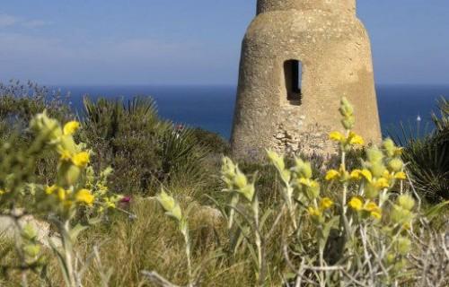 COSTA BLANCA DÉNIA Torre del Gerro en Las Rotes