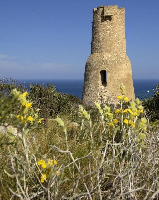 costa blanca denia torre romana del gerro de las rotes