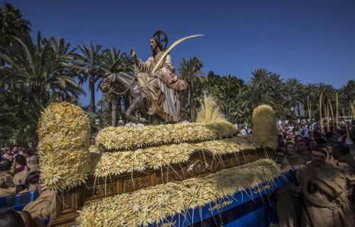 costa blanca domingo ramos elche paso de procesion