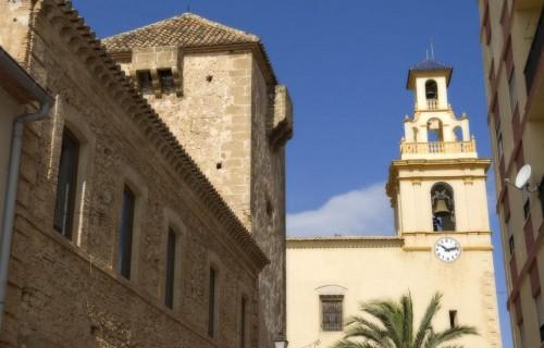 COSTA BLANCA MARINA ALTA EL VERGER Iglesia de la localidad