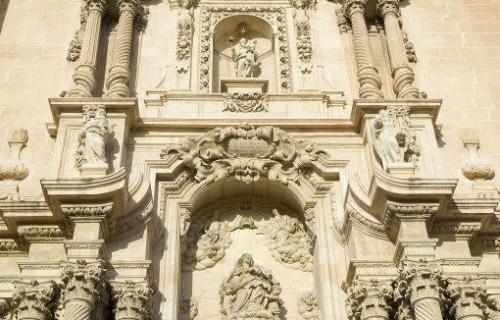 COSTA BLANCA ELCHE Basílica de Santa María
