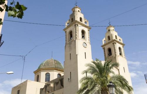 COSTA BLANCA VINALOPO MEDIO ELDA Iglesia de la localidad