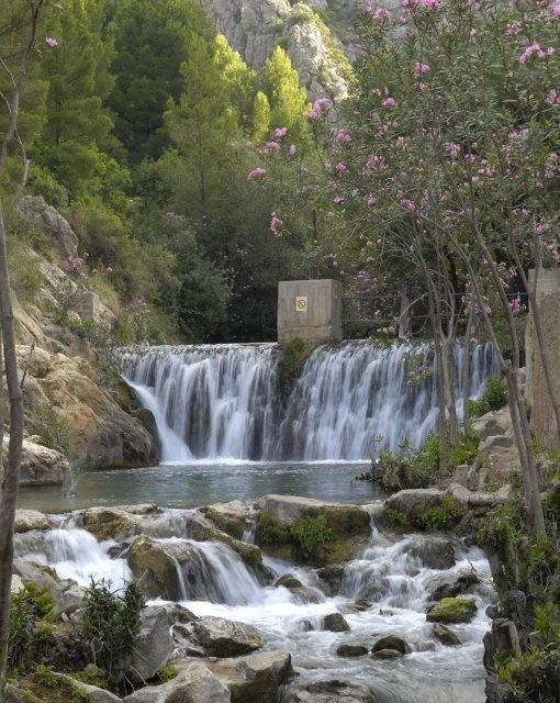 costa blanca fuentes de lalgar maravilloso rio