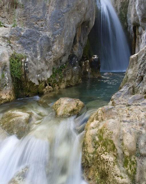 costa blanca fuentes de lalgar preciosa cascada y rio