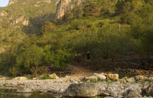COSTA BLANCA Río Gallinera en el Valle Homónimo