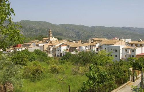 COSTA BLANCA VALLE DE GALLINERA Localidad de PATRÓ
