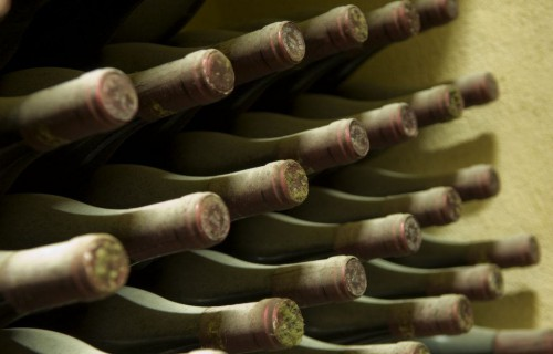 costa blanca gastronomia botellas de vino antiguas