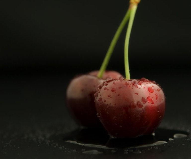 costa blanca gastronomia cerezas humedas y frescas
