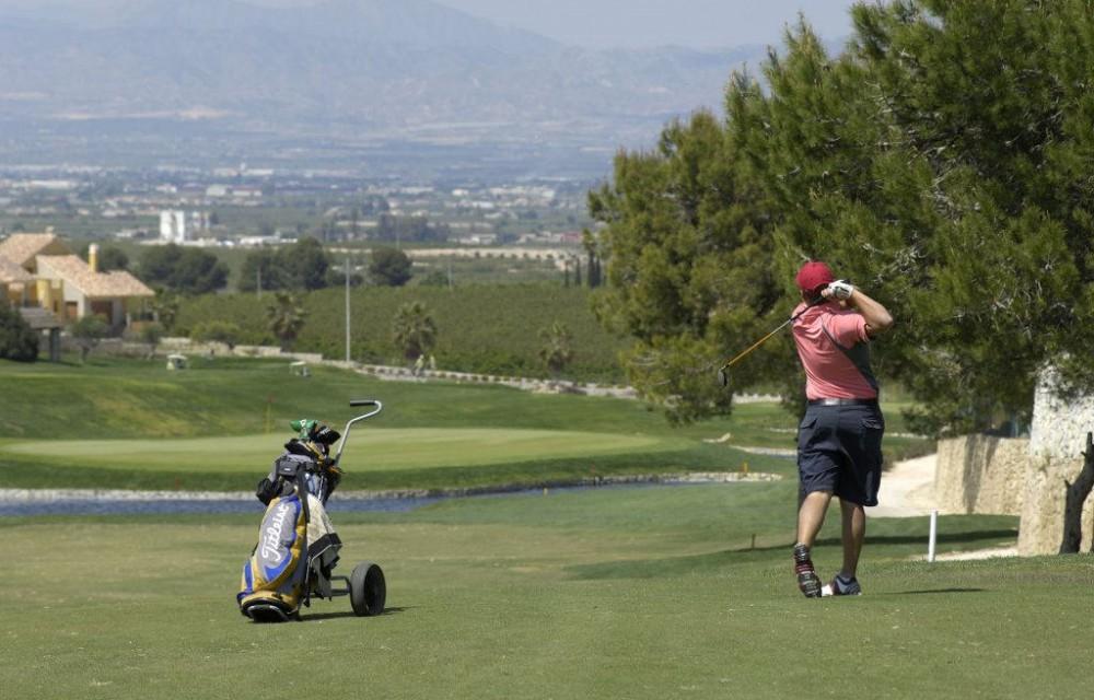 costa blanca golf la finca swing de un jugador