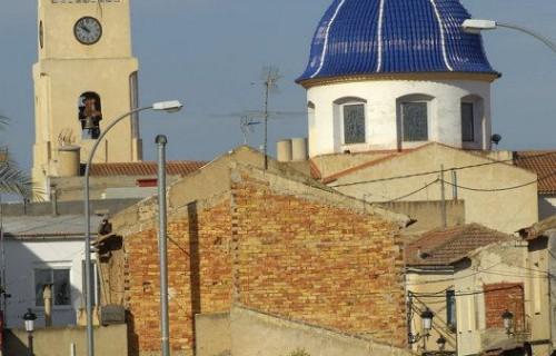 COSTA BLANCA LA VEGA BAJA GRANJA DE ROCAMORA Iglesia de San Pedro Apóstol