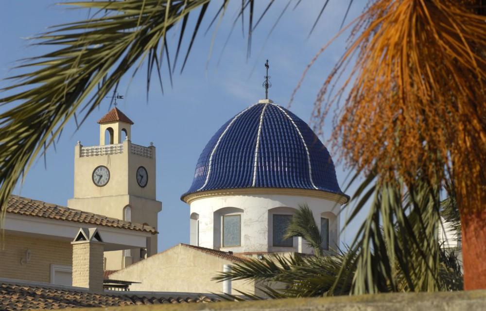 costa blanca granja rocamora iglesia san pedro apostol bonita