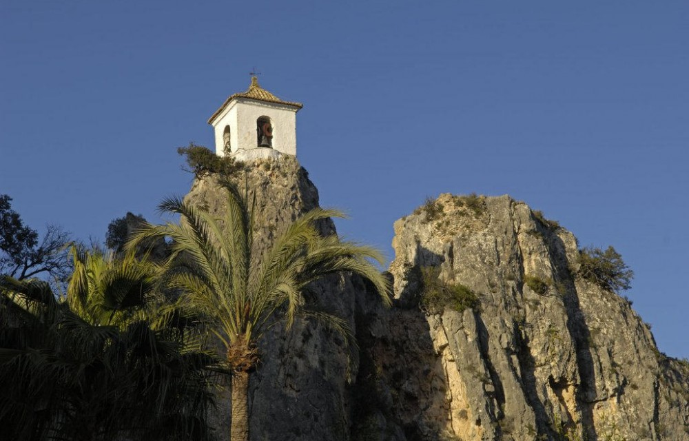 costa blanca guadalest imagen bonita del castell