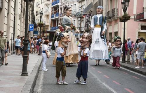 COSTA BLANCA ALICANTE HOGUERAS DE SAN JUAN figuras en la calle