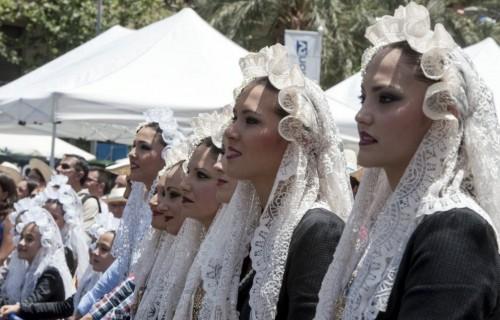 COSTA BLANCA ALICANTE HOGUERAS DE SAN JUAN guapas belleas