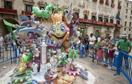 COSTA BLANCA ALICANTE HOGUERAS DE SAN JUAN hoguera infantil