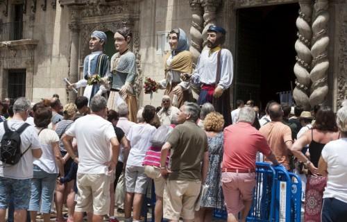 COSTA BLANCA ALICANTE HOGUERAS DE SAN JUAN monumento de pastores