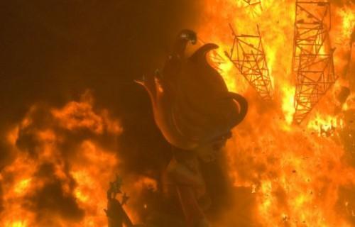 COSTA BLANCA ALICANTE HOGUERAS DE SAN JUAN noche del fuego
