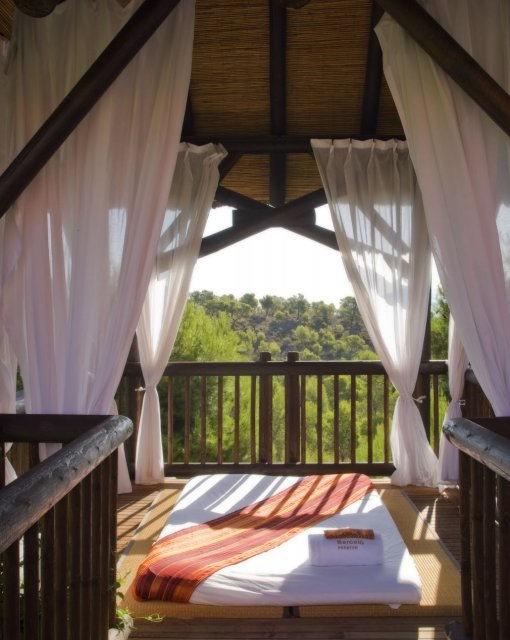 costa blanca hotel asia gardens benidorm balcon relajacion