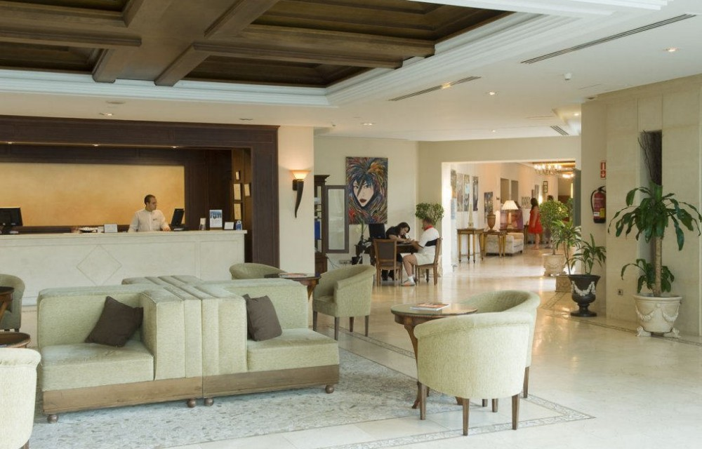 costa blanca hotel villagadea altea elegante hall