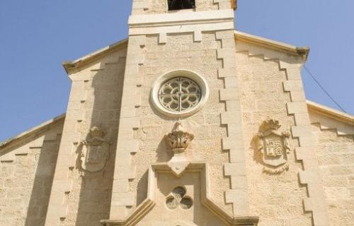COSTA BLANCA LA VEGA BAJA JACARILLA Iglesia de la localidad