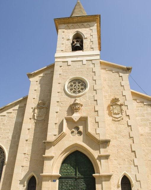 costa blanca jacarilla fachada de la iglesia