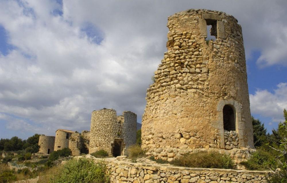 costa blanca javea antiguos molinos historicos
