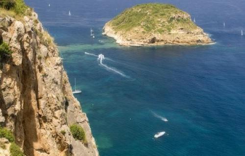 COSTA BLANCA JÁVEA Isla del Portichol desde el Mirador de La Falzia
