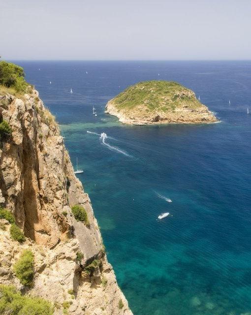 costa blanca javea increible isla  portichol