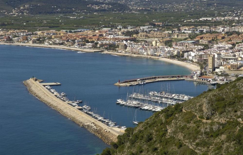 costa blanca javea marina y puerto deportivo