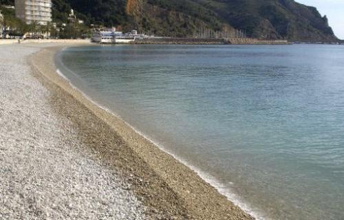 COSTA BLANCA MARINA ALTA  JÁVEA Playa de La Grava
