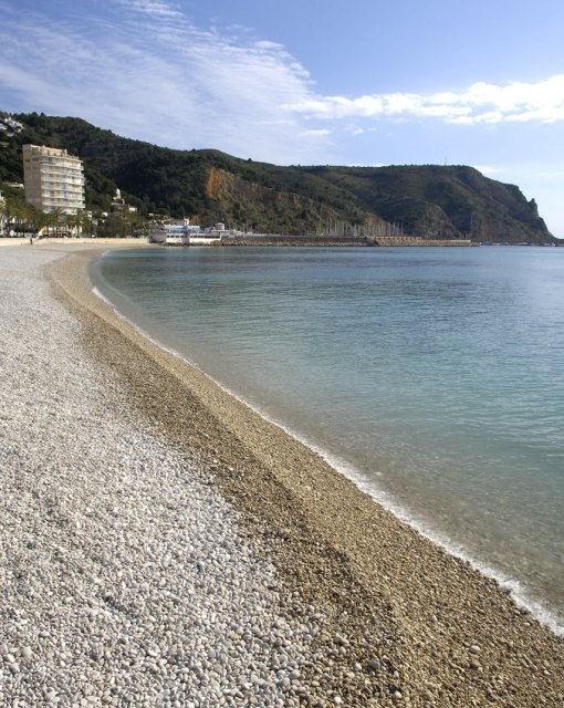 costa blanca javea preciosa playa de la grava